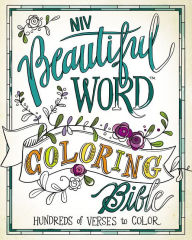 beautiful word coloring